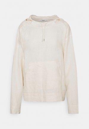 HOODIE - Jersey con capucha - light beige