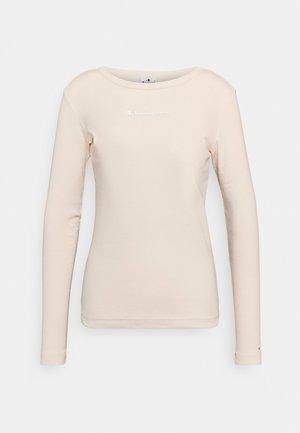 CREWNECK - Long sleeved top - beige