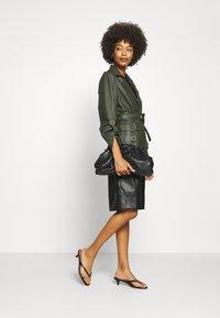 Ibana - MAE - Leather jacket - green - 1