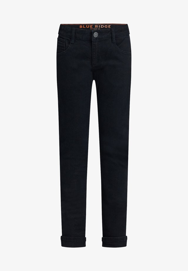 REGULAR FIT - Slim fit jeans - black