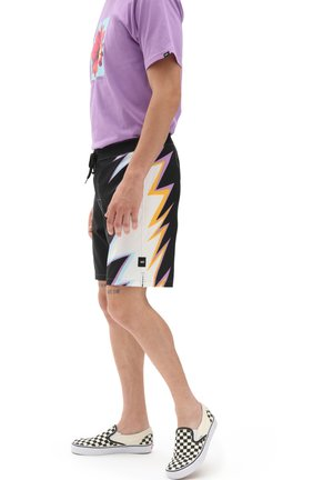 MN CRAGS BOARDSHORT - Swimming shorts - black