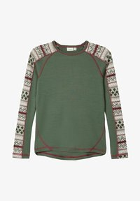 Name it - LONG SLEEVE - Long sleeved top - thyme - 0