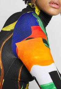 Stieglitz - ROSARIO - Long sleeved top - black - 5
