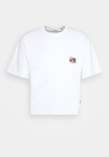 CROP TEE - T-shirt basique - white