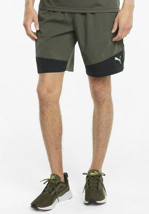 Shorts - grape leaf black