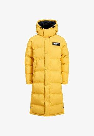 Płaszcz zimowy - spicy mustard