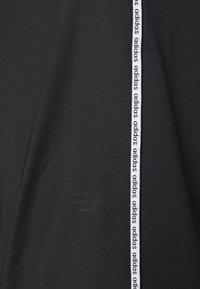 adidas Performance - MIX TEE - Print T-shirt - black/white - 5