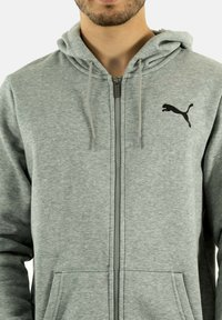 Puma - Zip-up sweatshirt - gris - 3