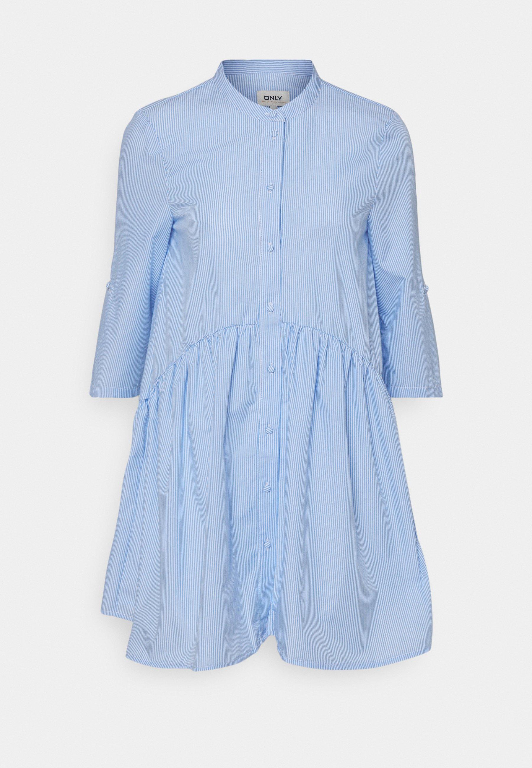Women ONLCHICAGO LIFESTRIPE DRESS - Shirt dress