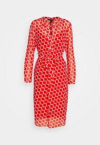 Esprit Collection - FLUENT GEORGE - Day dress - red orange - 0