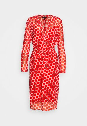 FLUENT GEORGE - Day dress - red orange