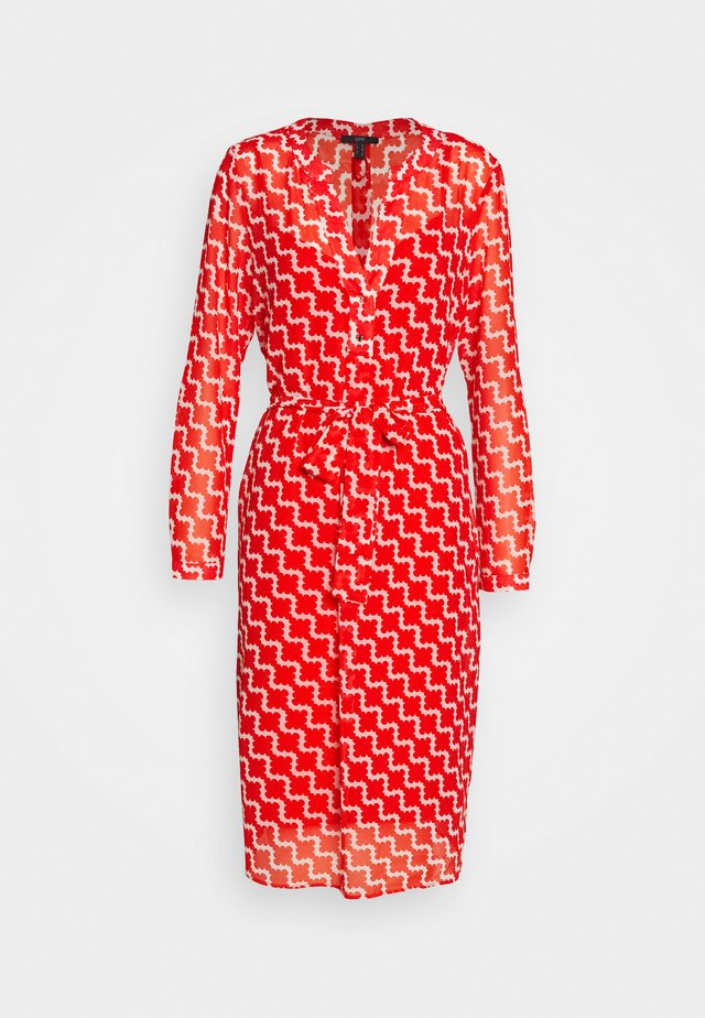 FLUENT GEORGE - Day dress - red orange