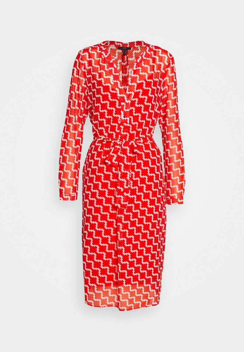Esprit Collection - FLUENT GEORGE - Day dress - red orange