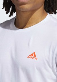 adidas Performance - LIL STRIPE CANNONBALL T-SHIRT - Long sleeved top - white - 5