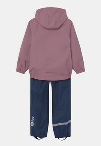 Color Kids - RAIN SET UNISEX - Waterproof jacket - dusky orchid - 1