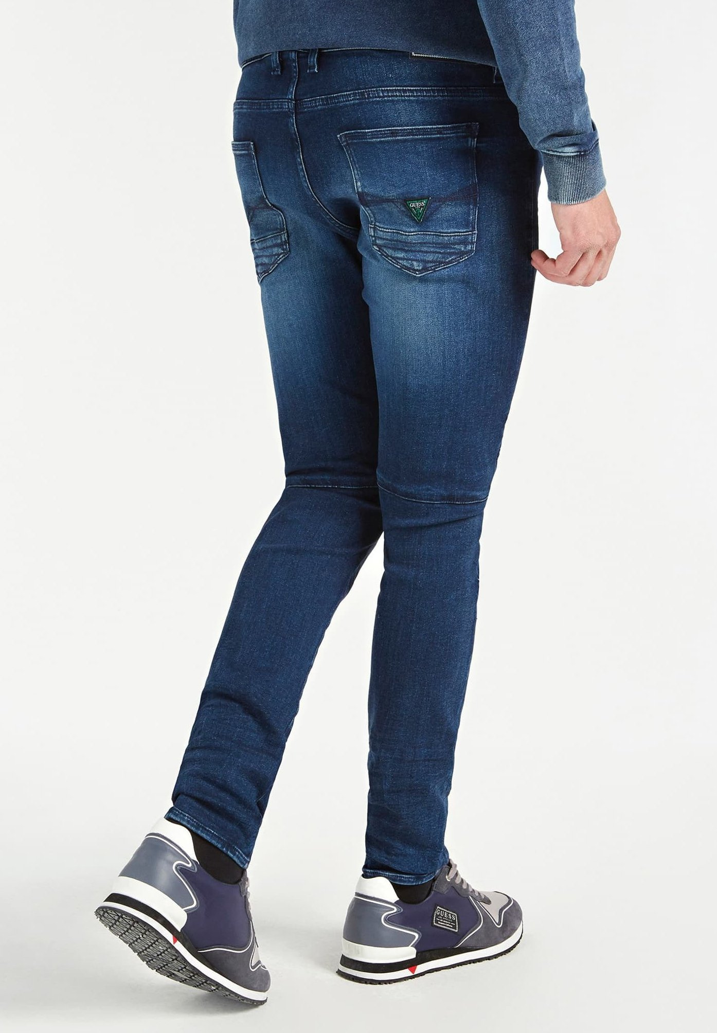 Guess Jeans Skinny Fit dunkelblau Zalando.nl