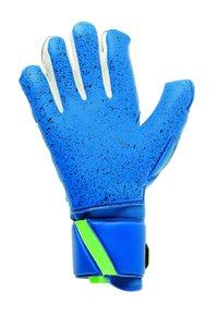uhlsport - Goalkeeping gloves - pacific blau/fluo grün/we - 1