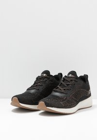 Skechers Sport - BOBS SQUAD - Trainers - black/rose gold - 4