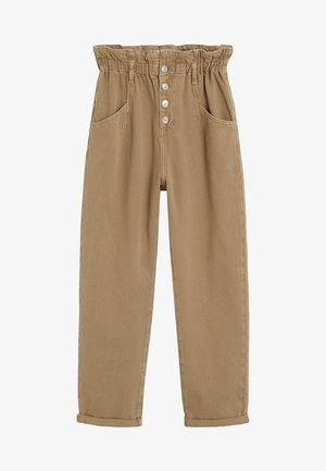 PAPERBAG - Straight leg jeans - brown