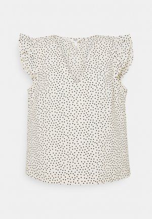 OBJNOUR - Camiseta estampada - sandshell