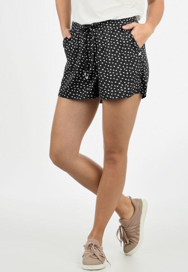 AMAL - Shorts - mottled black