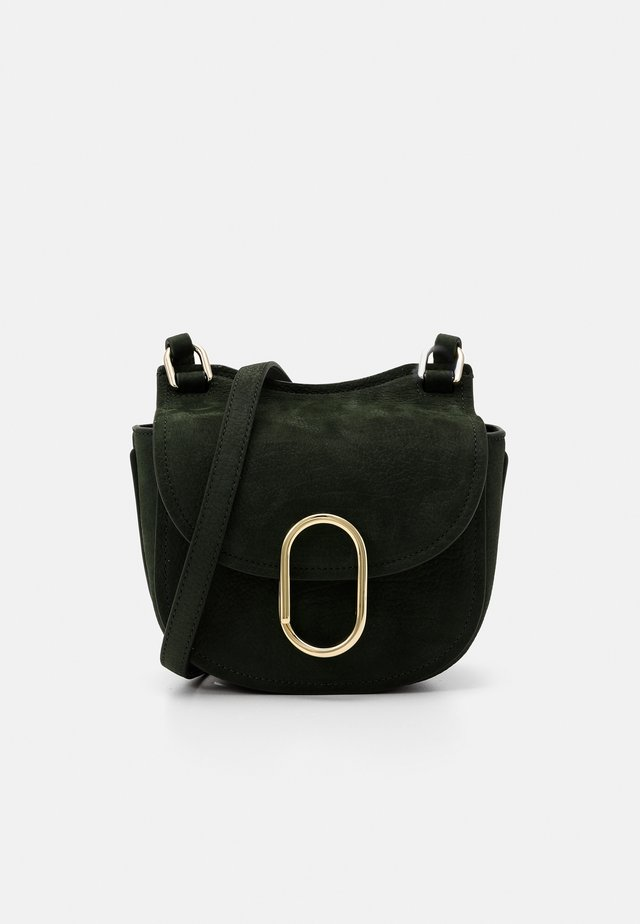 ALIX MINI HUNTER - Skuldertasker - dark green