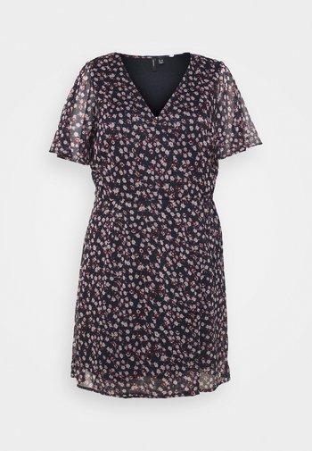 VMKAY WRAP DRESS  - Robe d'été - navy blazer