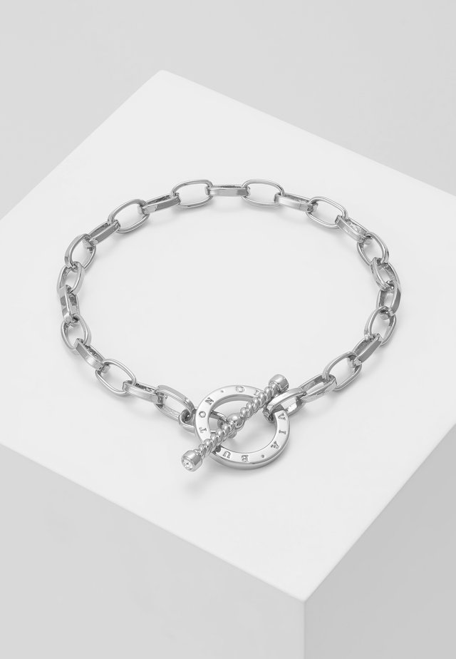 BEJEWELLED T-BAR BRACELET - Armband - silver-coloured