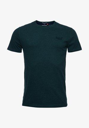 VINTAGE  - T-shirt basic - buck green marl