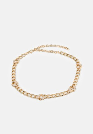 PCVILLA WAIST CHAIN BELT - Cinturón - gold-coloured