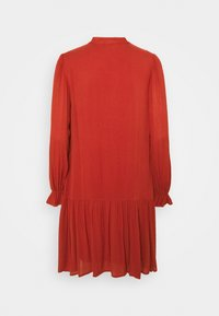 YAS - YASCILLA DRESS BOHO - Day dress - red ochre - 1