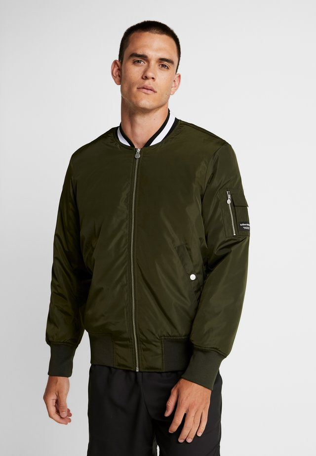 BOMBER JACKET - Giacca sportiva - forest night