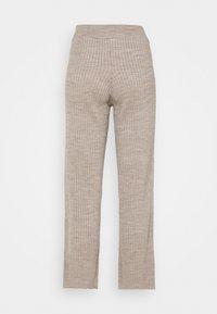 New Look Petite - WIDE LEG TROUSER - Bukse - stone - 1