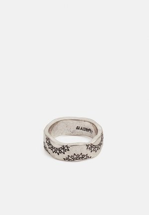 SANDS OF TIME PATTERN BAND - Ring - silver-coloured