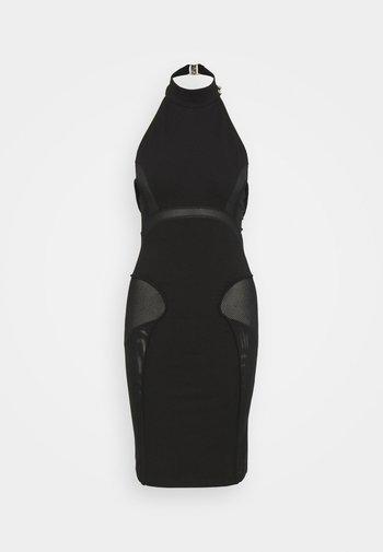 ELIGHT - Shift dress - black