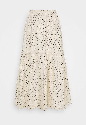 MANDY SKIRT - Gonna a campana - white dusty light