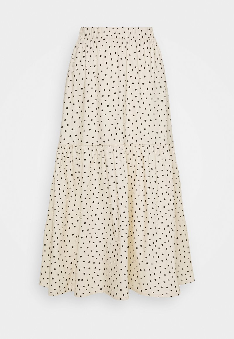 Monki - MANDY SKIRT - Áčková sukně - white dusty light