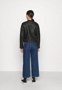 Pepe Jeans - LENNA - Chaqueta de cuero sintético - black - 2