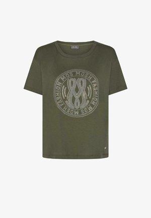 T-shirts med print - dark green