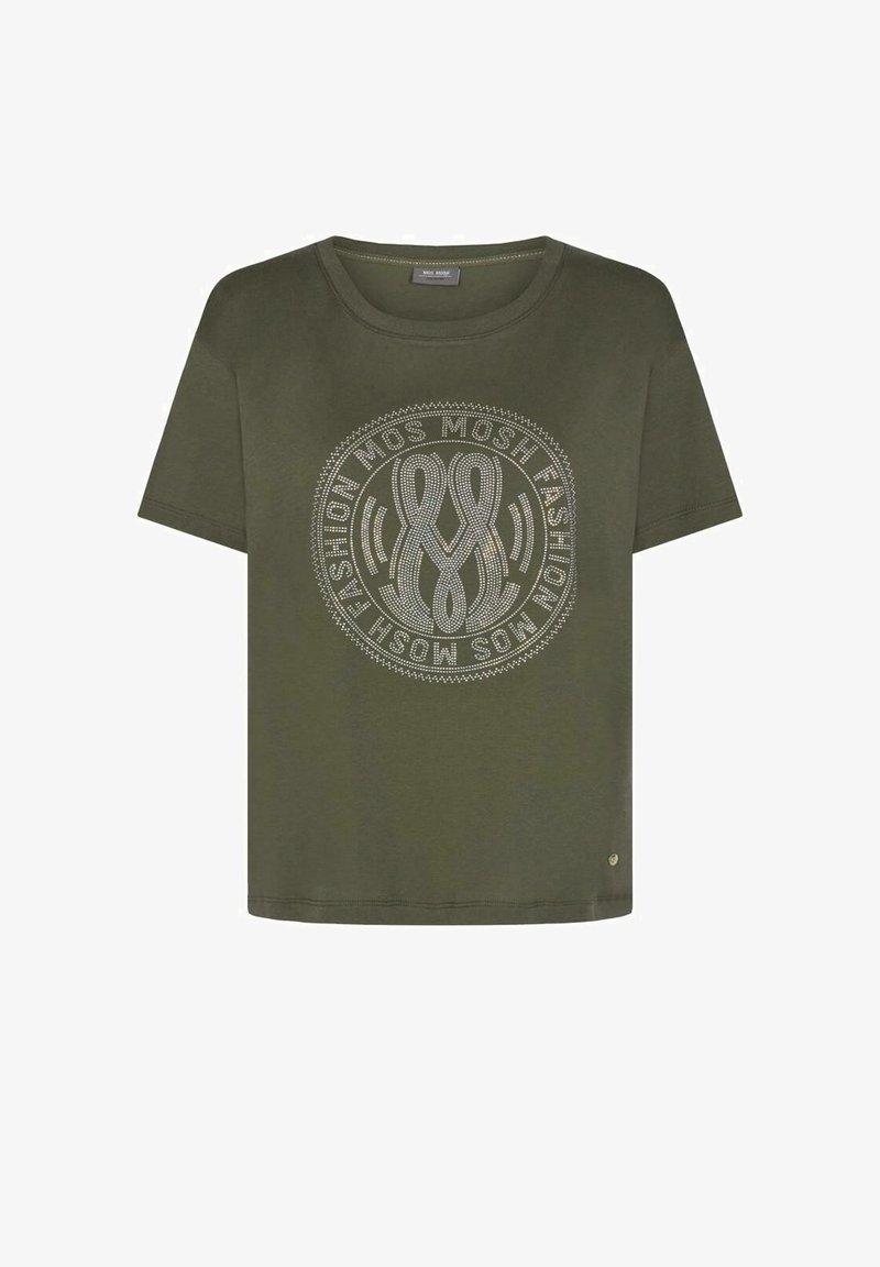 Mos Mosh - T-shirts med print - dark green