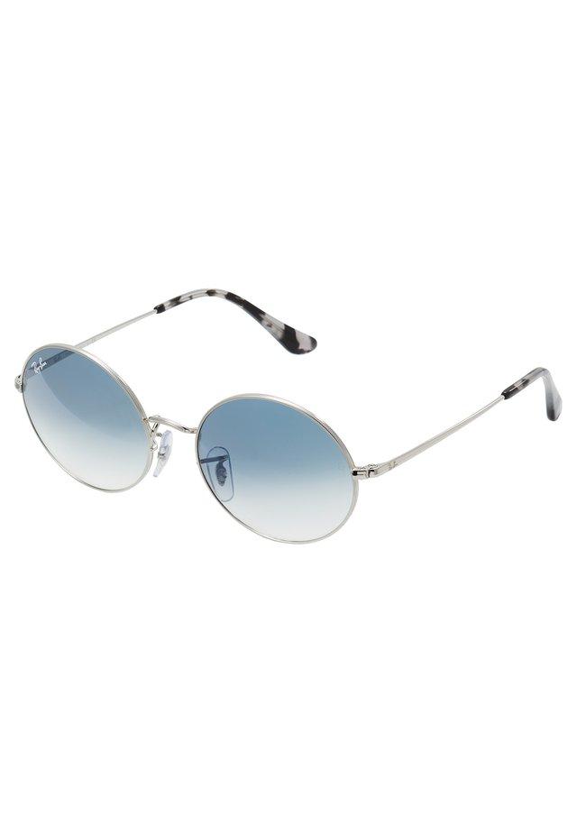 Okulary przeciwsłoneczne - silver-coloured/blue