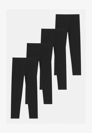4 PACK - Leggings - black