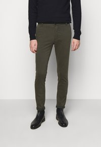 Tiger of Sweden - TRANSIT - Trousers - black green - 0