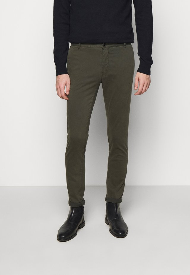 TRANSIT - Pantalon classique - black green