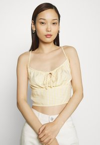 Hollister Co. - TIE BARE - Topper - yellow - 3
