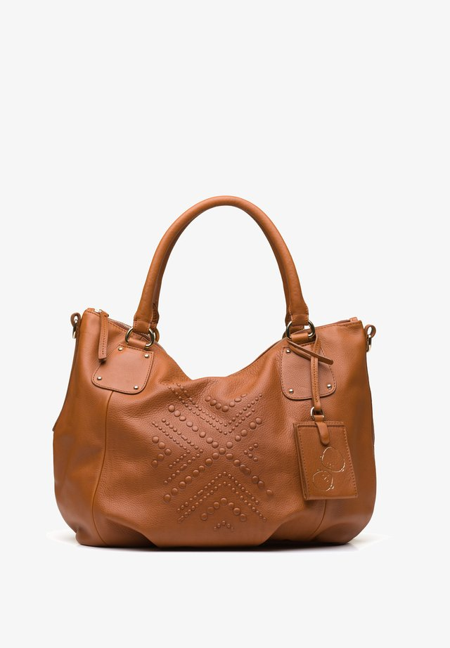 ABABA SCARS - Handbag - brandy