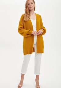 DeFacto - Cardigan - yellow - 1