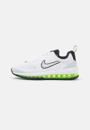 AIR MAX GENOME - Sneakers - white/volt/pure platinum/black