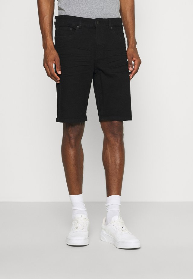 RYDER  - Denim shorts - black denim