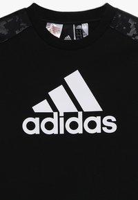 adidas Performance - ID CREW - Sudadera - black/white - 4